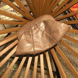 Lauren merkin leather clutch